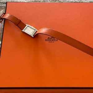 Hermès Tandem double tour watch